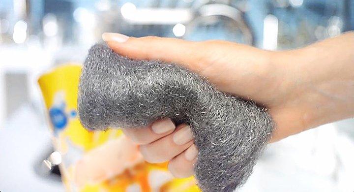 Esponja de aço: um reforço de peso na sua cozinha