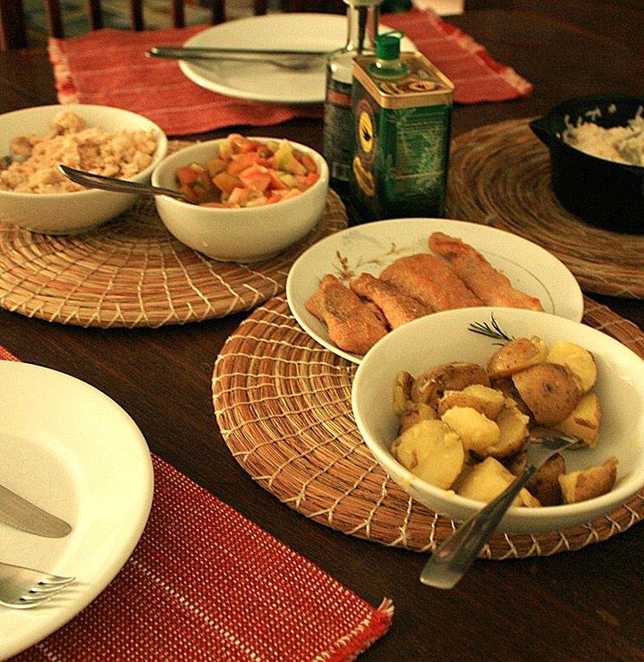 Tutorial: almoço rápido a dois no fim de semana