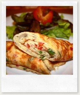 omelete thumb Aprenda a fazer um omelete rápido e saboroso