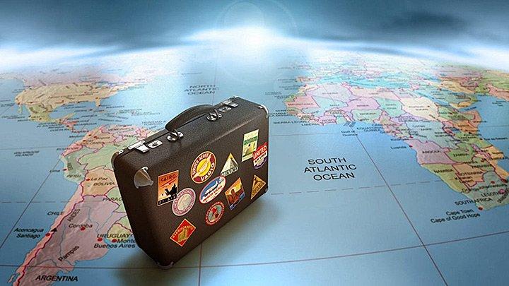 Pacote de turismo ou viagem por conta própria