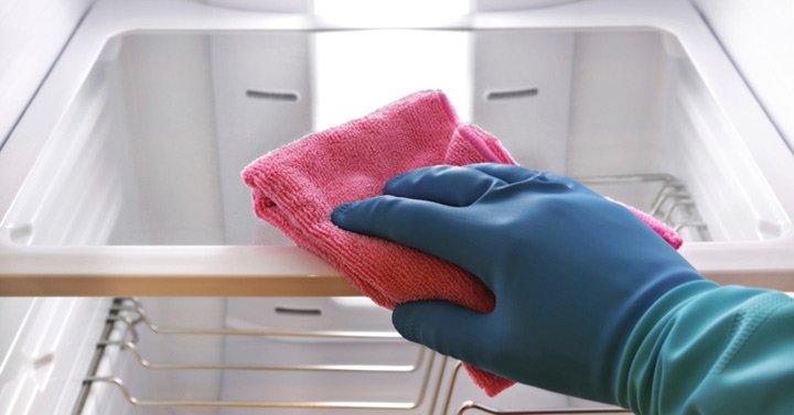 Aprenda a limpar sua geladeira
