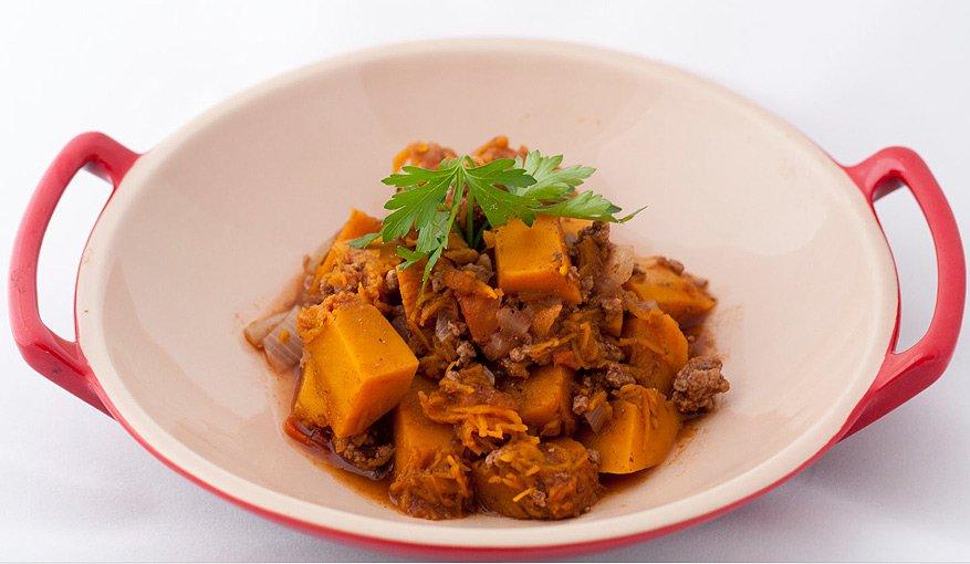 Receita rápida, fácil e barata: carne moída apimentada com abóbora!