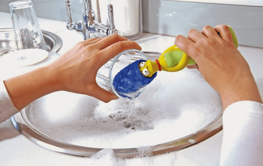 Esponja de lavar louça
