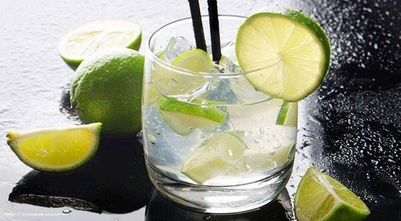 Drink brasileiro - Caipirinha