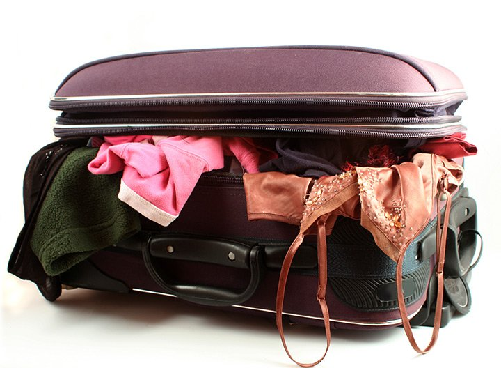 Arrumando as malas