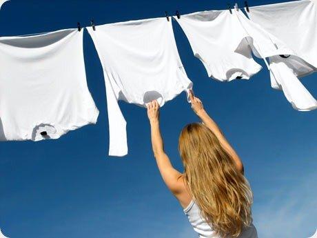 roupa branca thumb Como lavar roupa