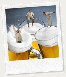 cerveja gelada thumb2 Aprenda como gelar a cerveja e o refrigerante bem rápido!