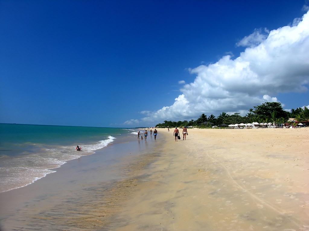 Praia Taperapuã, Bahia