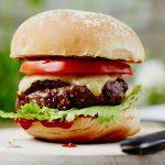 Receita deliciosa de hambúrguer caseiro