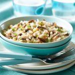 Solteiro gourmet: Risoto de alho poró e champignon