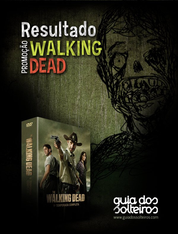 Resultado da Promoção Walking Dead!