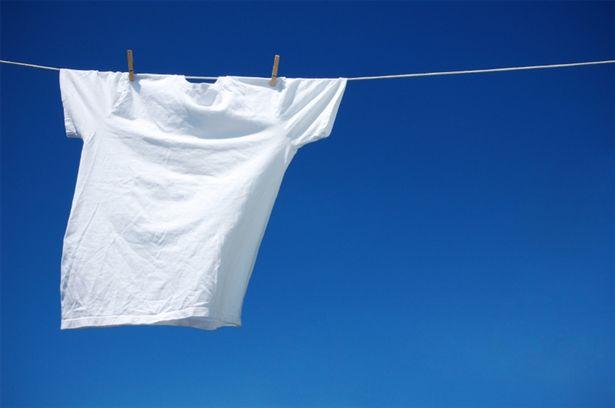 roupa branca Como retirar o amarelado das roupas brancas