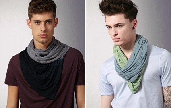 lenço masculino
