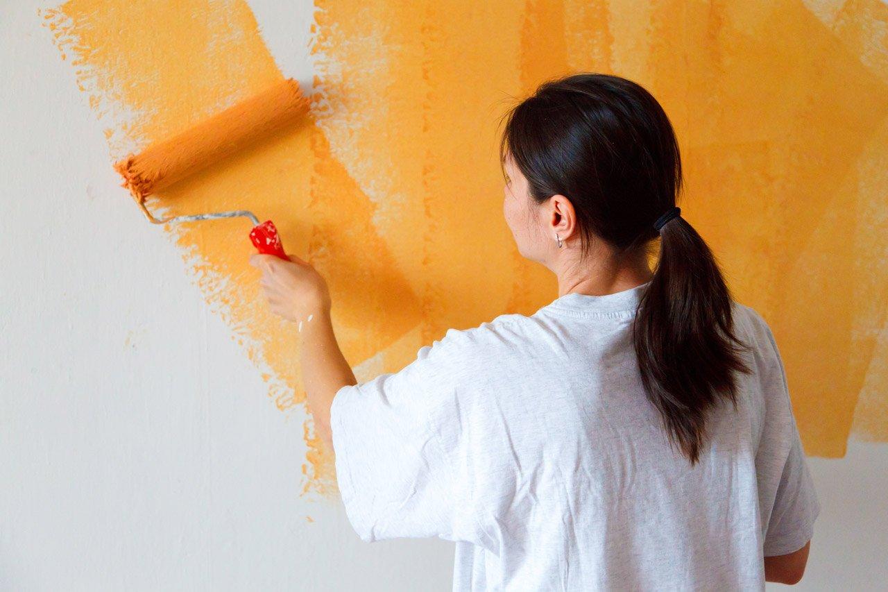 Como pintar uma parede guia dos solteiros - Aprender a pintar paredes ...