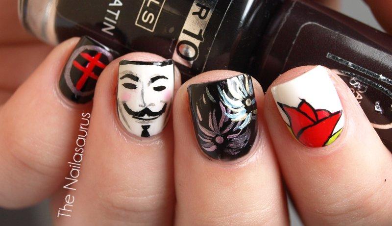 Anonymous - ve de vingança e black bloc