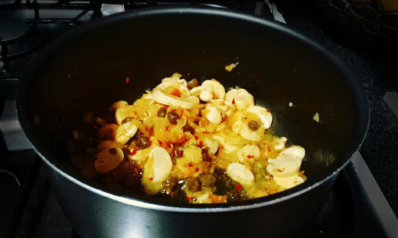 Preparando macarrão 03