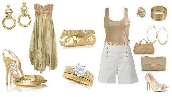 look-dourado