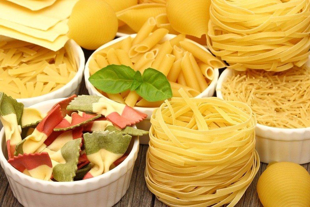 Ingrediente das receitas de macarrão