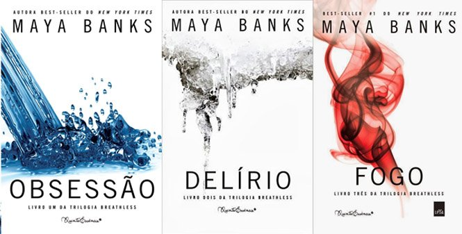Trilogia Breathless - Maya Banks