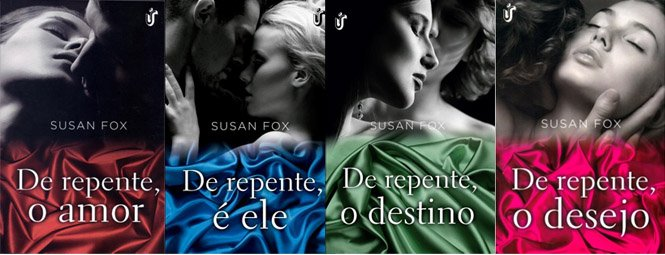 "Série ""Irmãs Fallon"" - Susan Fox"
