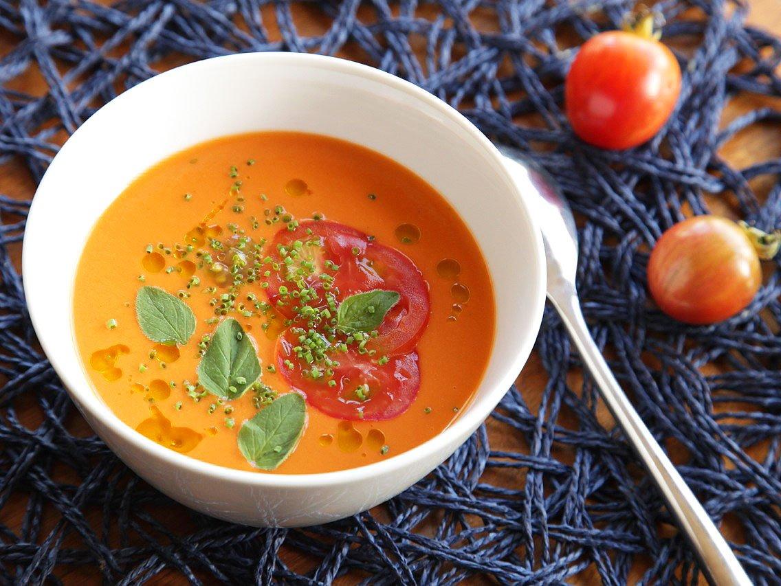 Gazpacho: uma sopa fria perfeita para o verão