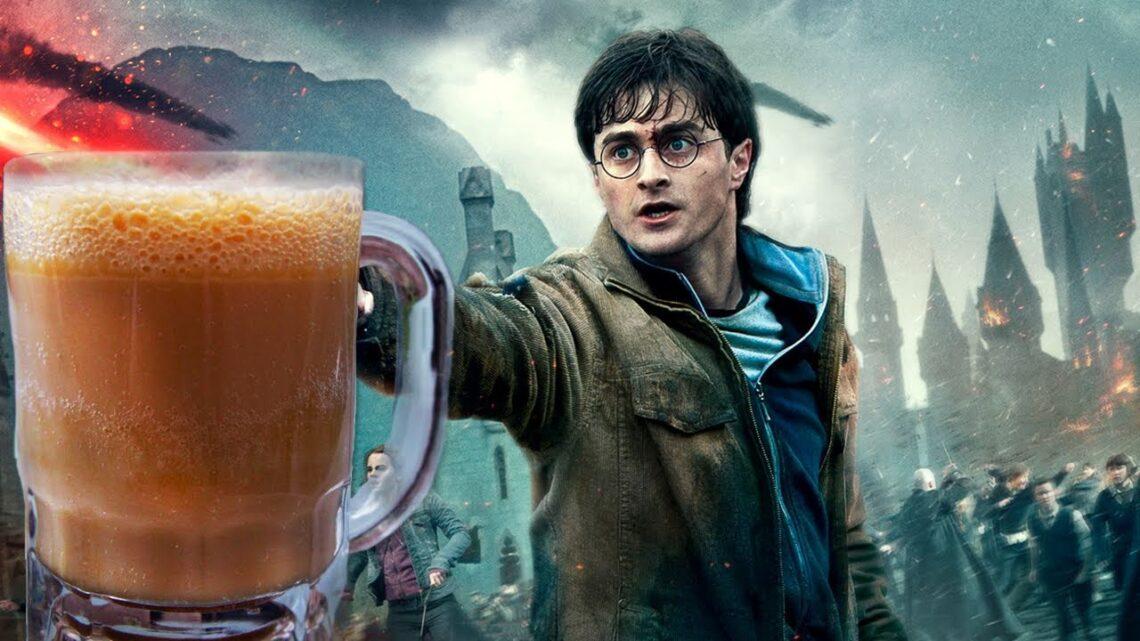 Cerveja amanteigada do Harry Potter: veja como é fácil fazer!