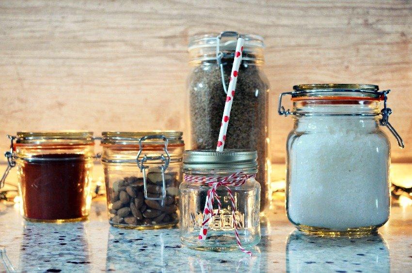 5 maneiras de reaproveitar potes de vidro