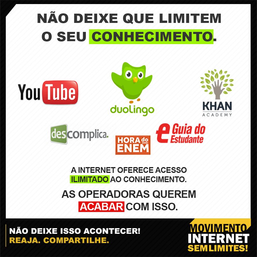 internet conhecimento