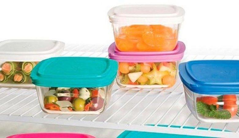 Comidas conservadas na geladeira