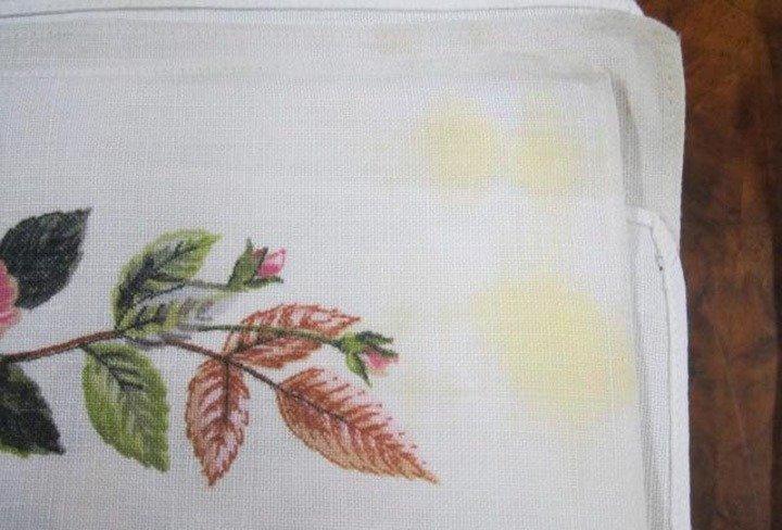 Tecido com mofo