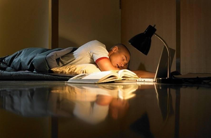 Estudando descaçando