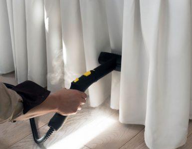 como limpar cortinas