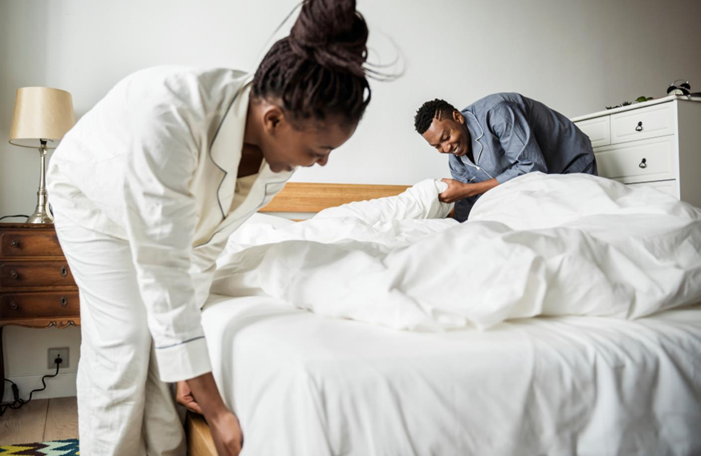Arrumar a cama