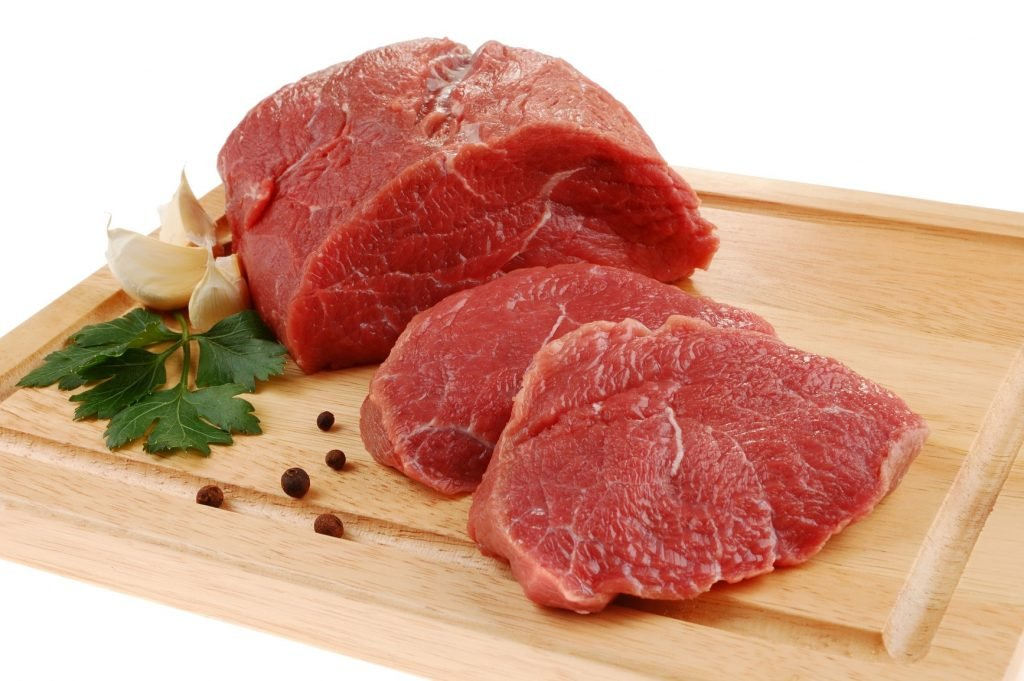 Carne boa aparência