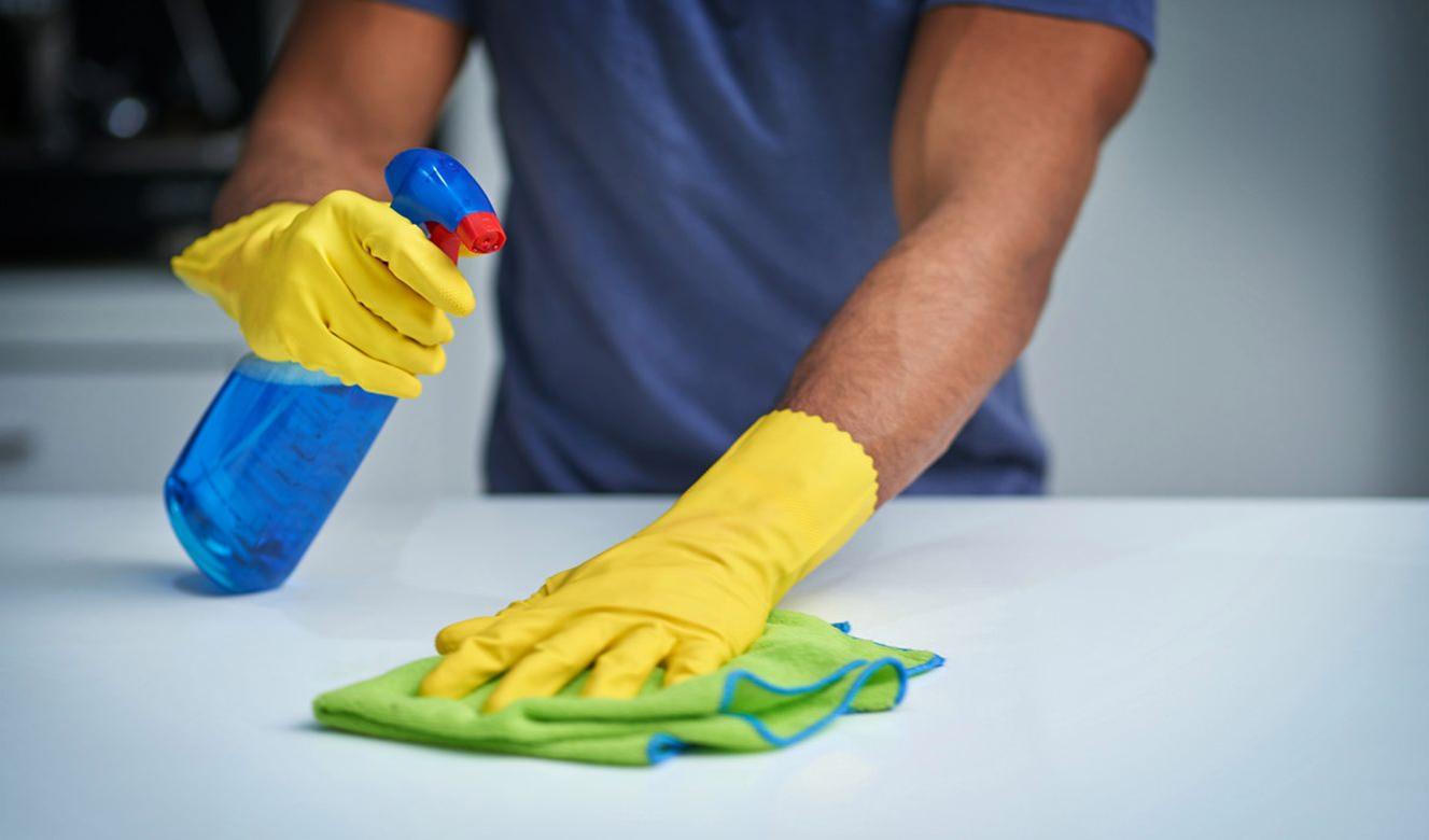 Fazendo limpeza