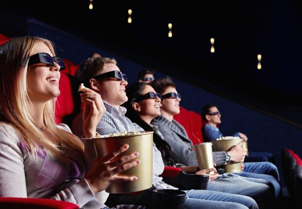 cinema stress reduzir