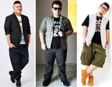 moda homem plus size