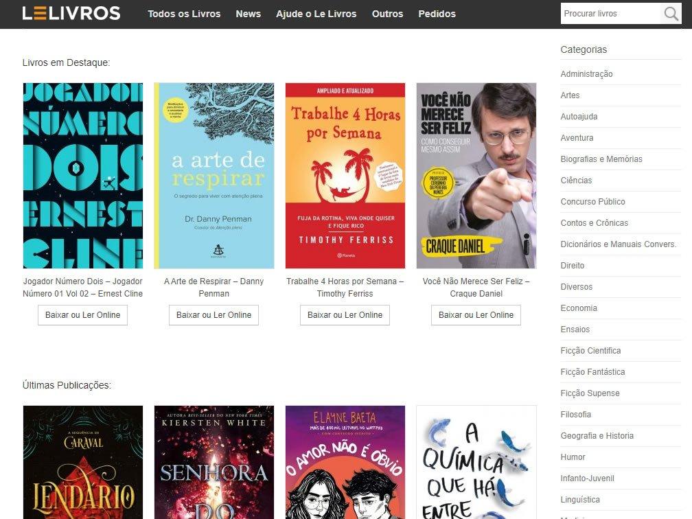 Baixar livros em PDF: Os melhores sites para download 2