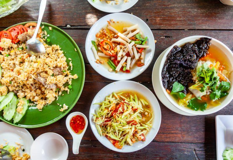 Acompanhamentos - legumes, frutas, cereais