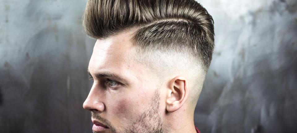 cabelo masculino com pomada
