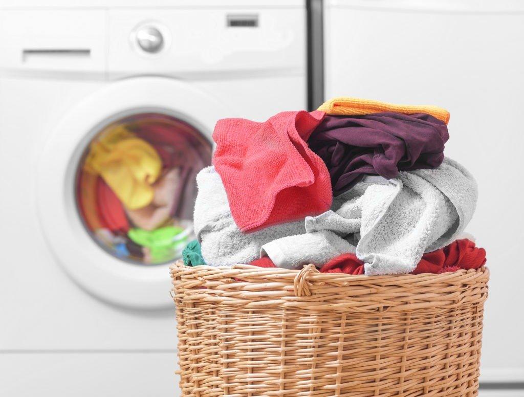 separe as roupas