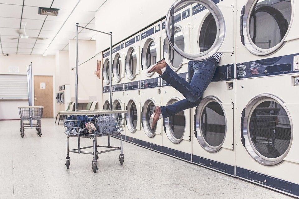 A lavanderia é por sua conta
