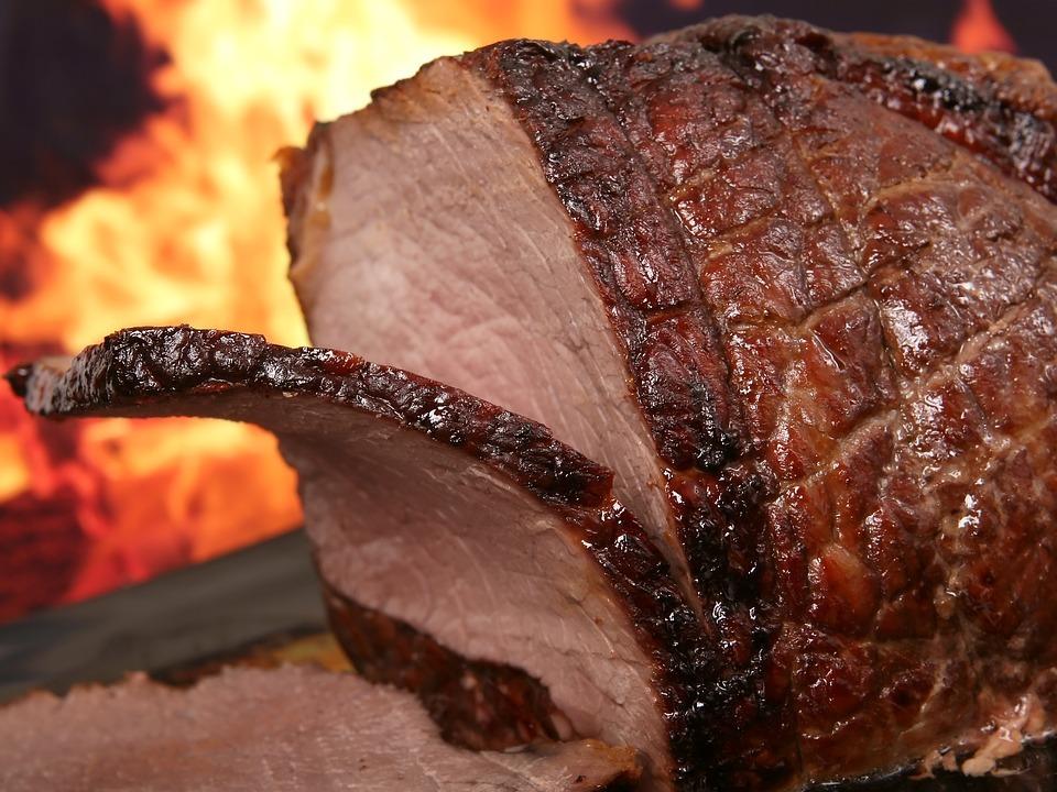 Calcule a carne do churrasco