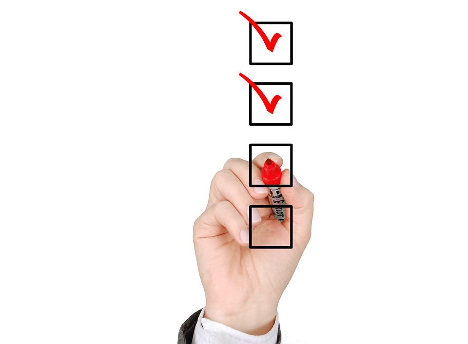 Pequenas listas podem ajudar na motivação