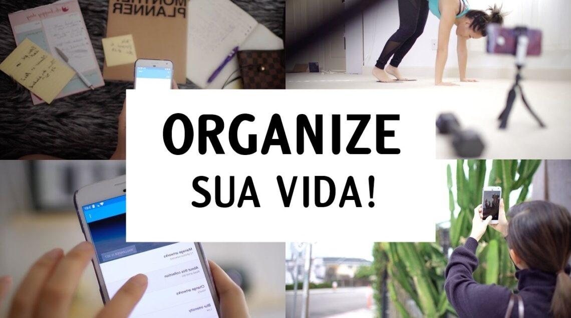 Como organizar minhas tarefas e horários?