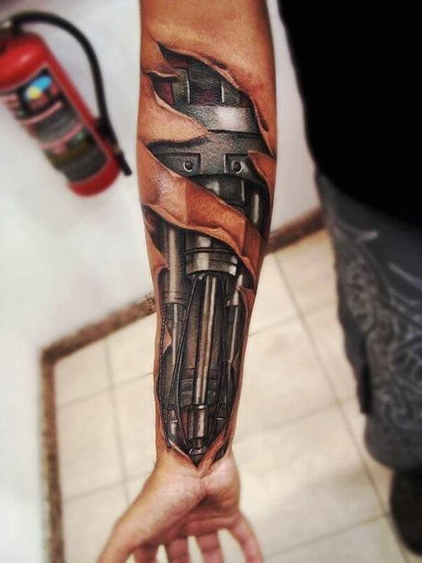 Tatuagem no Braço (+80 FOTOS) As Melhores Para Você Escolher 13