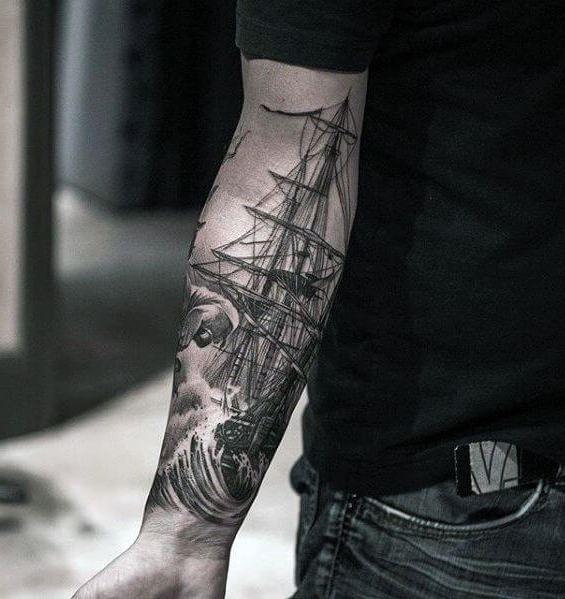 Tatuagem no Braço (+80 FOTOS) As Melhores Para Você Escolher 31