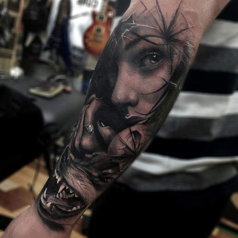 Tatuagem no Braço (+80 FOTOS) As Melhores Para Você Escolher 39