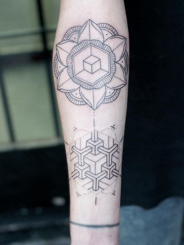 Tatuagem no Braço (+80 FOTOS) As Melhores Para Você Escolher 40