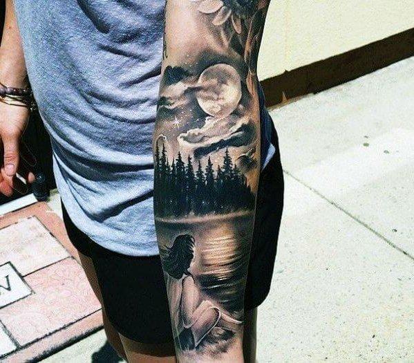 Tatuagem no Braço (+80 FOTOS) As Melhores Para Você Escolher 51